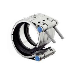 Reparaturkupplung  REP E - W5 und NBR - Spannbereich-Ø 34,5 bis 170,1 mm - Rohrweite 35 bis 168 mm - Preis per Stück