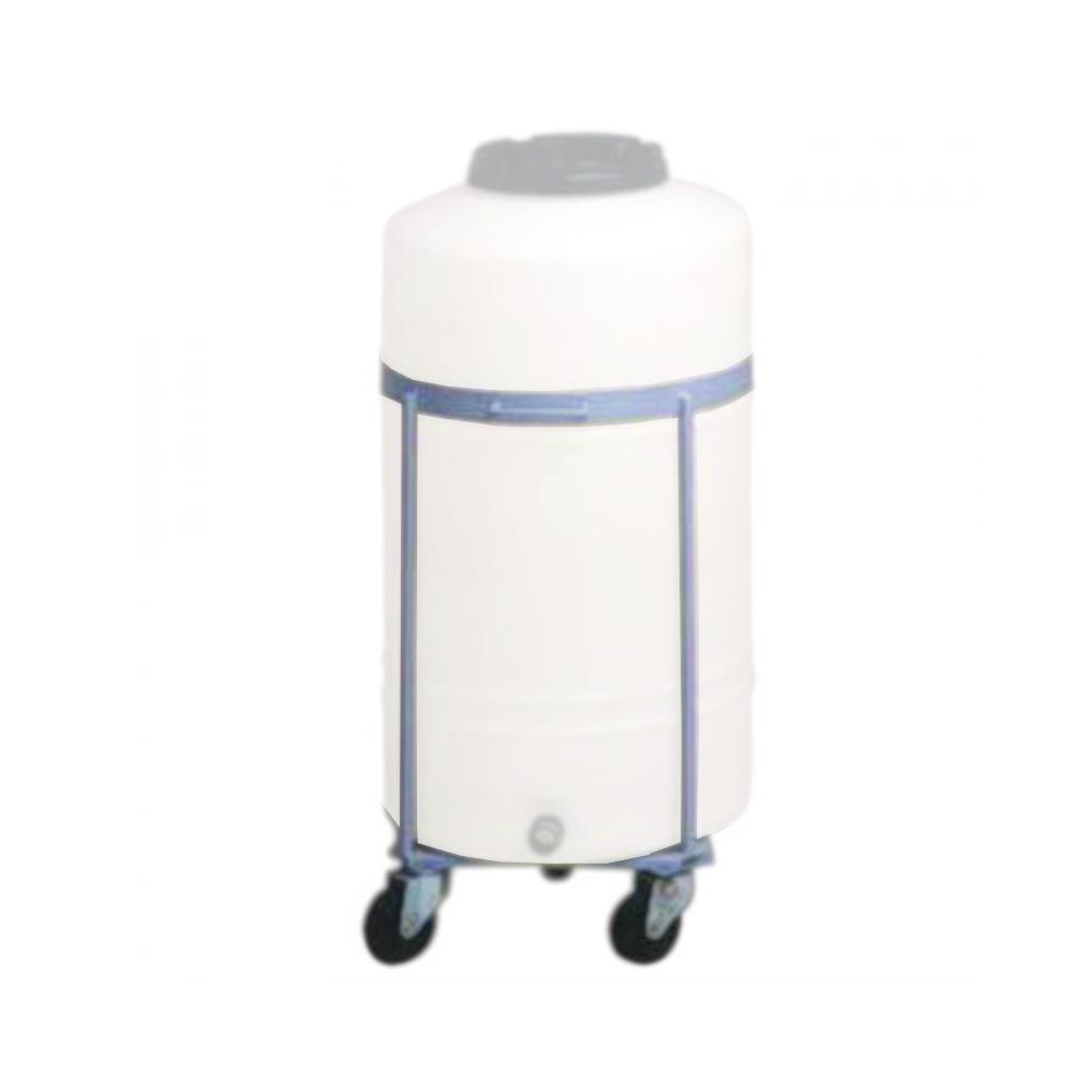 Stahlgestell - mit Rollen - für Graf® Kunststofffass