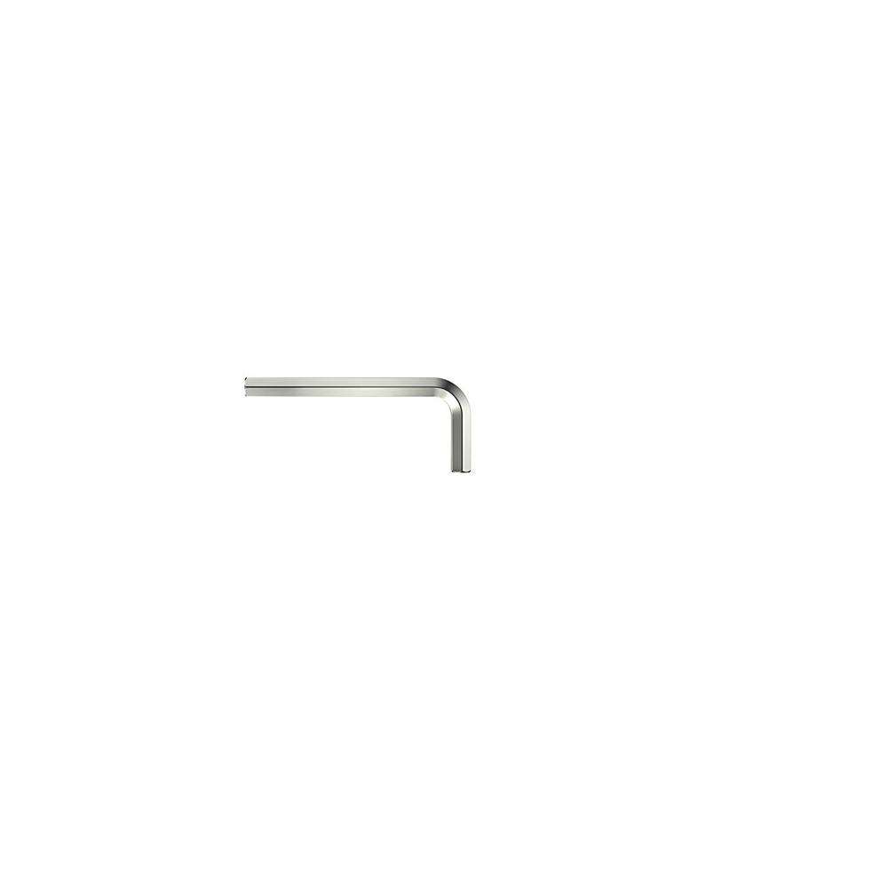 Stiftschlüssel - Sechskant - kurz - glanzvernickelt - Serie 351