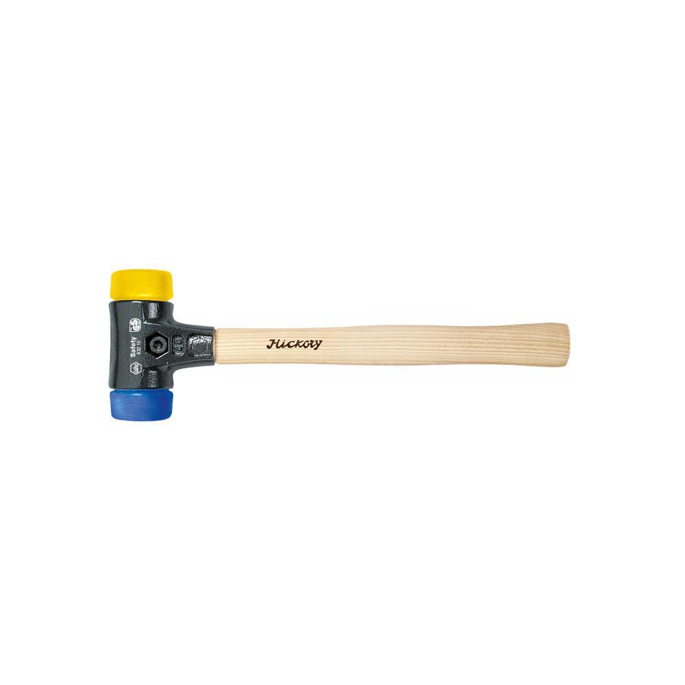 """Schonhammer """"Safety"""" - blau/ gelb - Serie 832-15"""