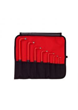 Nyckelnyckel - Serie 352N S7 - 3 till 12 mm - 7-delad set - isolerad