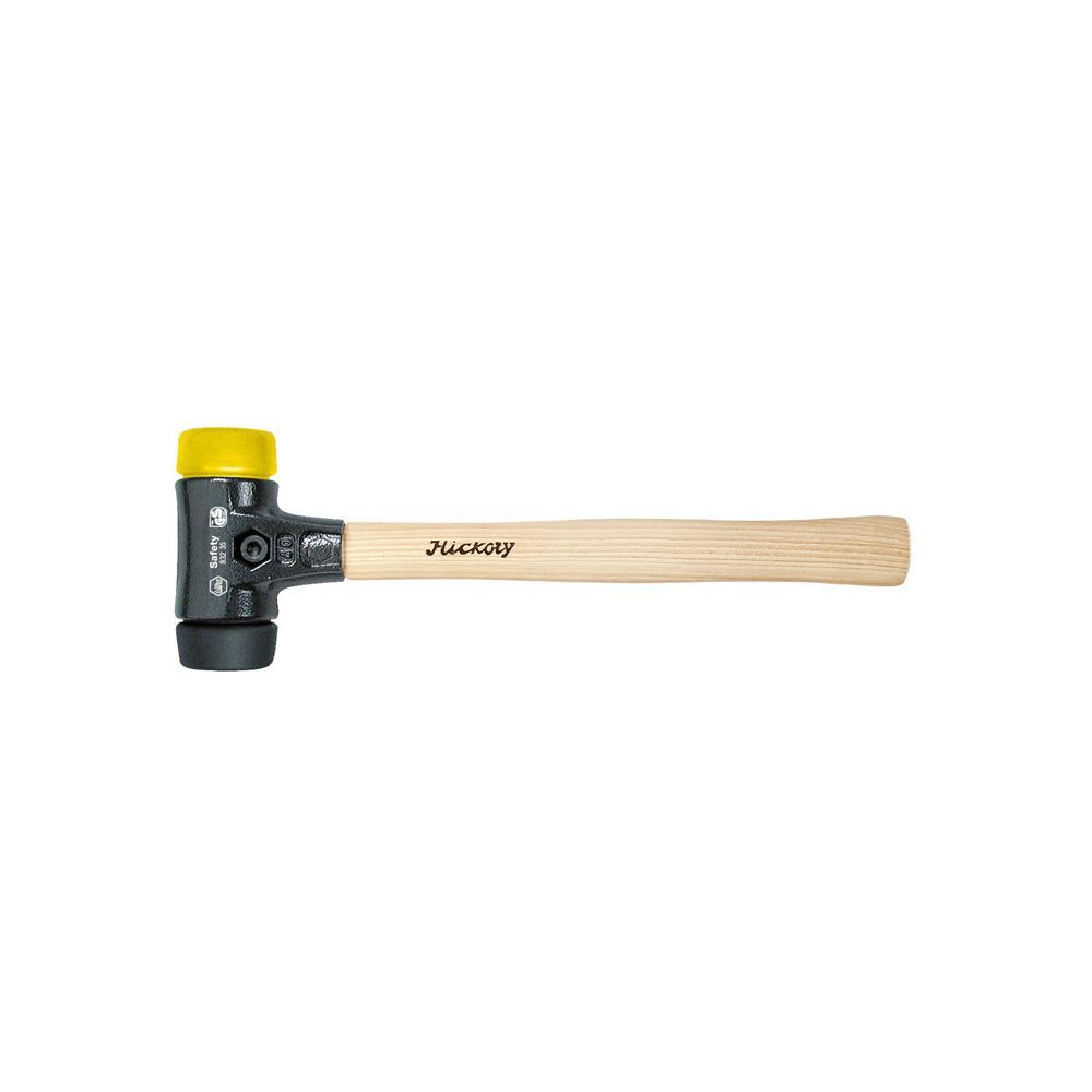 """Schonhammer """"Safety"""" - schwarz/ gelb - Serie 832-35"""