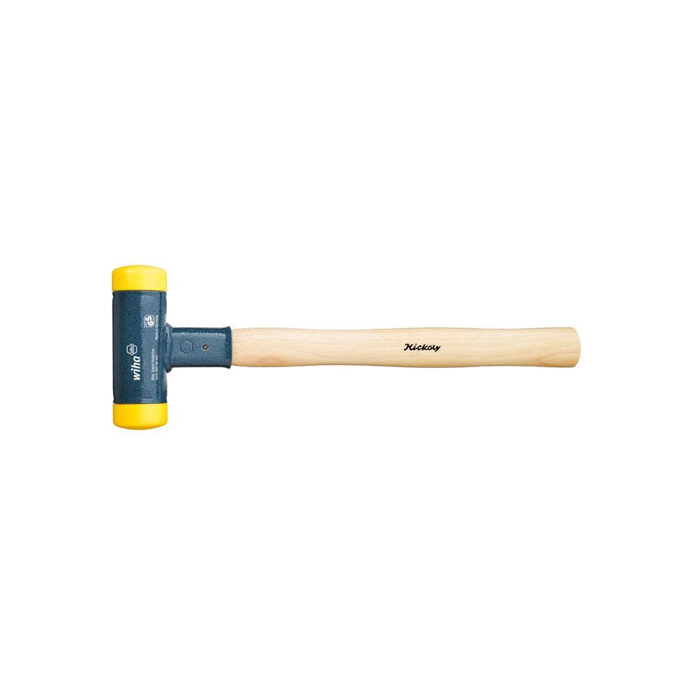 Schonhammer - rückschlagfrei - gelb - mit Hickory-Holzstiel - Serie 800