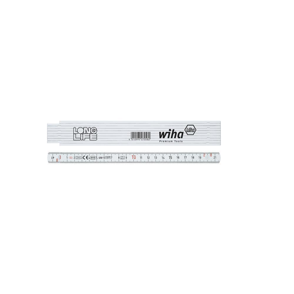 Longlife règle de pliage - 2 m - métrique - Série 410 2000