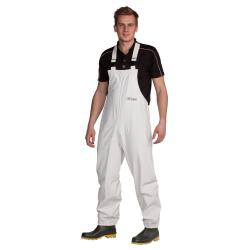Chemical protection dungarees - Ocean - Waterproof - Size XS to 4XL - White