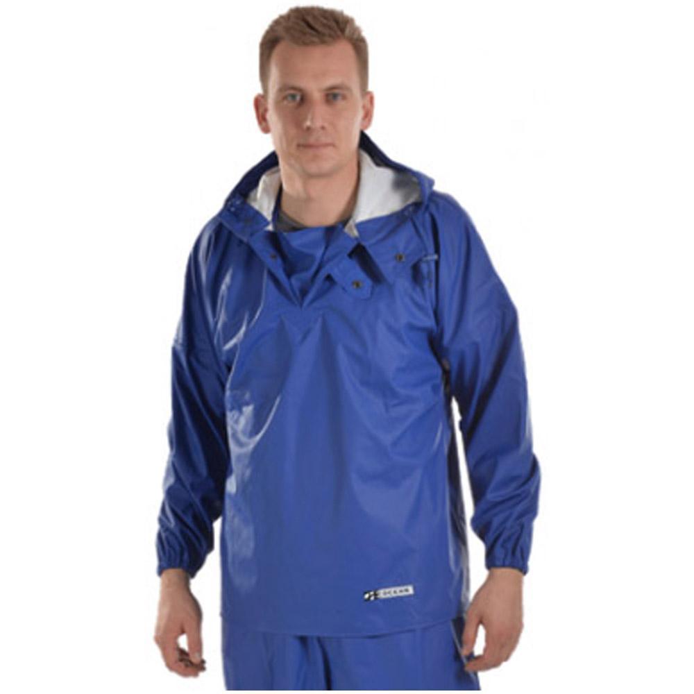 Chemikalienschutzjacke - Ocean - Wasserfest - 240 gr. Nylon - S bis 4XL - Königsblau