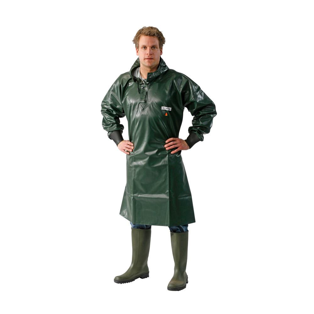 Raincoat - Ocean - Flame retardant - Durable - M to 8XL - Olive