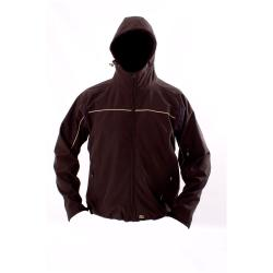 Softshell Jacket - Ocean - Waterproof - Windproof - Breathable - S to 4XL - Black