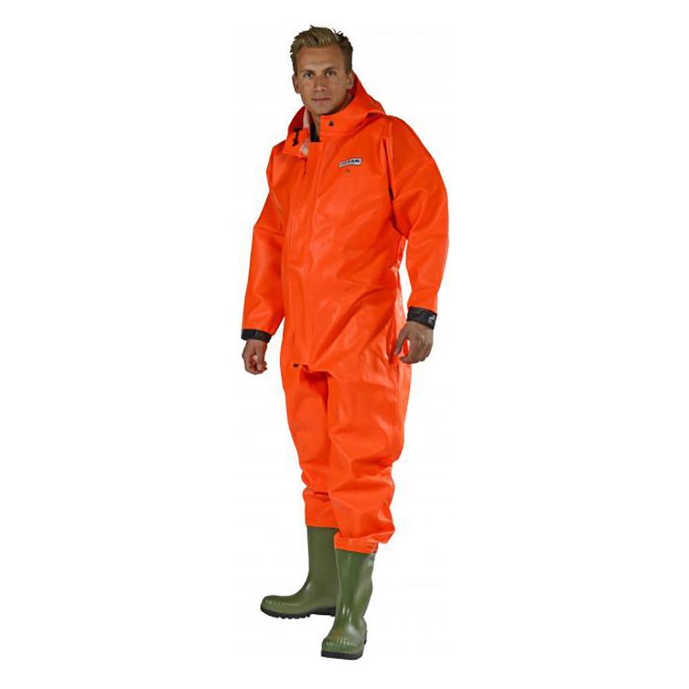 Schutzanzug - Ocean Heavy Duty - Reißfest - Wasserfest - Gr. M bis 3XL - Orange