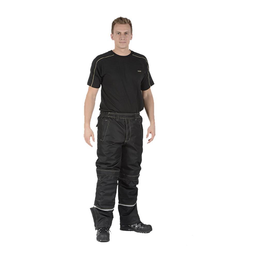 Wetterschutzhose - Ocean - Cordura® Verstärkung - Atmungsaktiv - XS bis 5XL - Schwarz