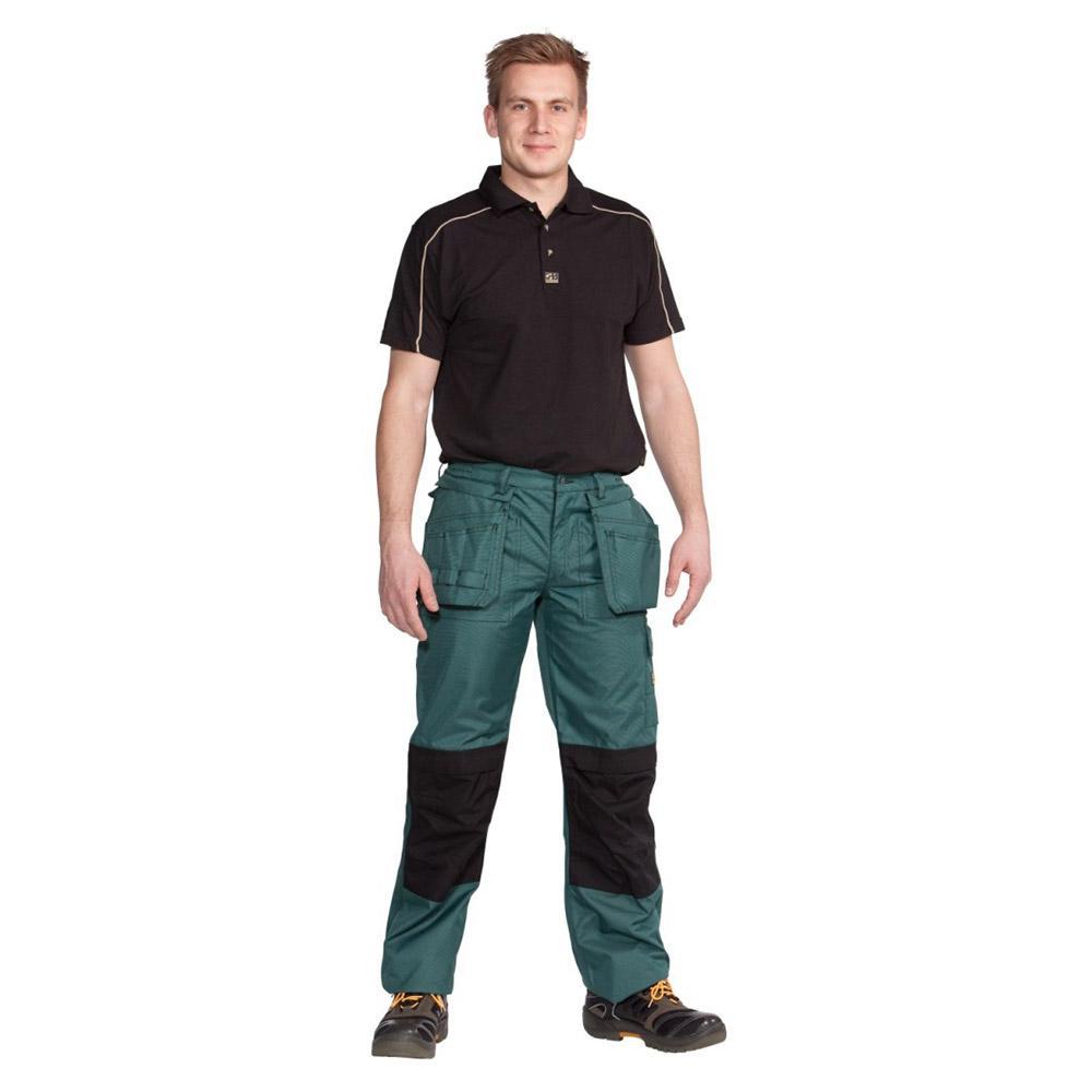Wetterschutzhose - Ocean - Cordura® Verstärkung - Atmungsaktiv - XS bis 5XL - Grün