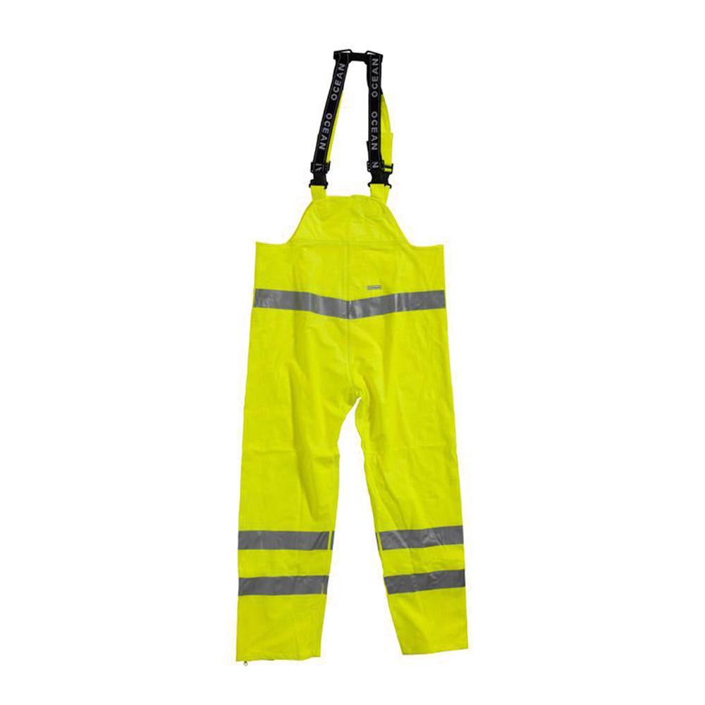 Regenlatzhose - Ocean - Warnschutzklasse 2 - Kältebeständig - XS bis 5XL - Gelb