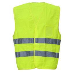Warnschutzweste - Ocean - Warnschutzklasse 2 - ID-Karten Tasche - Größe M - Gelb