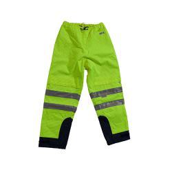 MULTINORM pantaloni - Mare - con fodera Proban trattati - Gr. S alla 4XL - Giallo / Marine