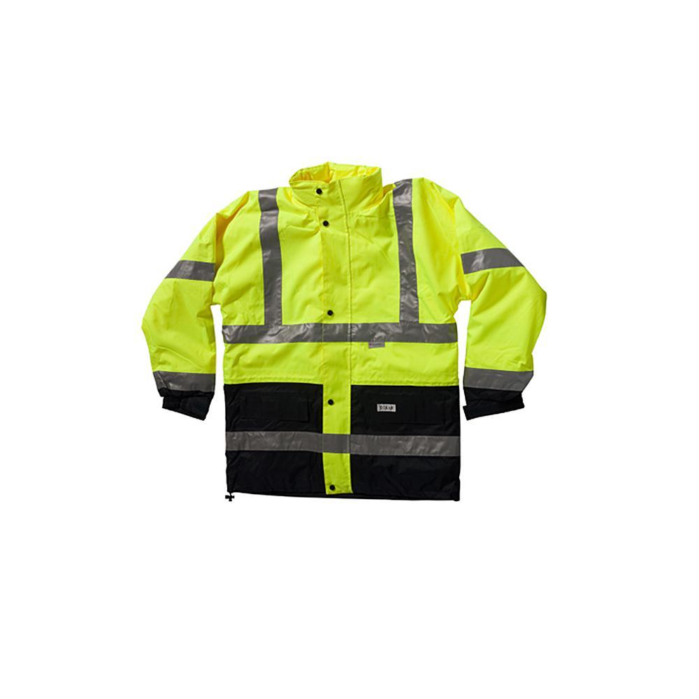 Visibilità giacca - Mare - con giacca interna - Warnschutzkl. 3 - XS alla 4XL - Giallo / Marine
