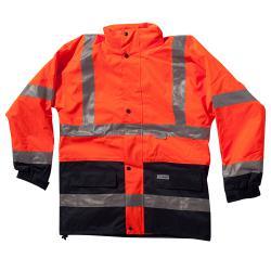 Visibilità giacca - Mare - alta visibilità Classe 3 - con giacca interna - XS alla 4XL - Arancio / Navy