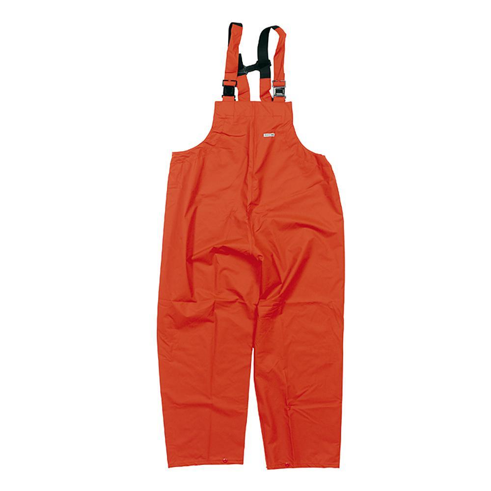 Latzhose - Ocean Comfort Stretch - Wassersäule 8000 mm - XS bis 4XL - Orange