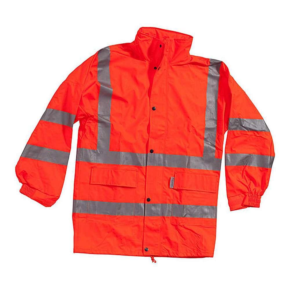 Warning jacket - Ocean - with photoluminescent strip - warning class 3 - S to 4XL - Orange