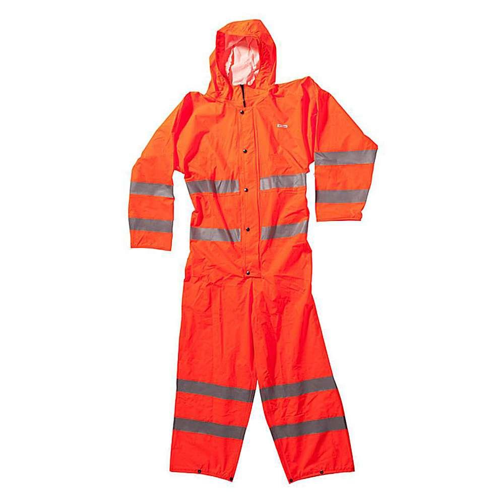 Regenoverall - Ocean - Warnschutzkl. 3 - Reißfest - Größe S bis 3XL - Orange
