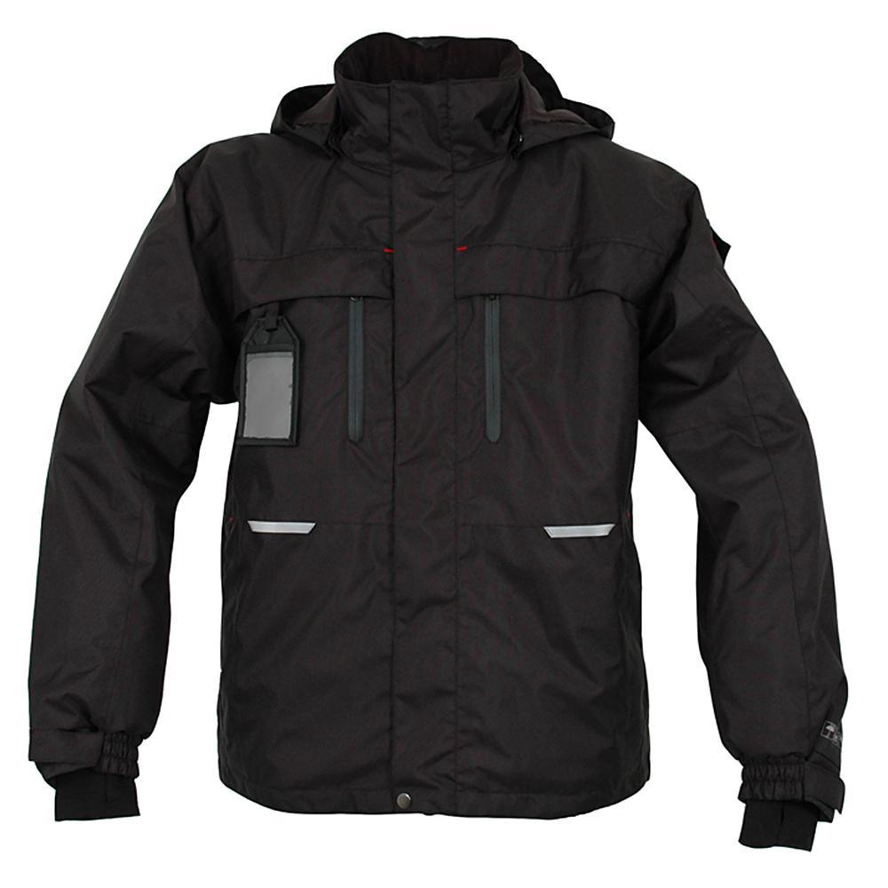 giacca impermeabile - OCEAN - Fodera - impermeabile - traspirante - formato XS alla 4XL - Nero