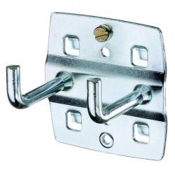 Tool hook - double - vertical hook end - 75 mm