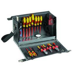 Werkzeugkoffer-Elektro - Grundsortiment - 18-teilig - VDE-geprüft