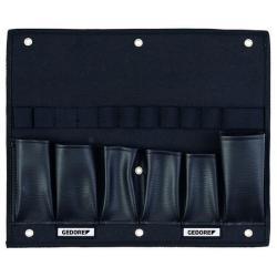 Werkzeugkarte - leer - für Gedore L-BOXX - 375x20x310 mm