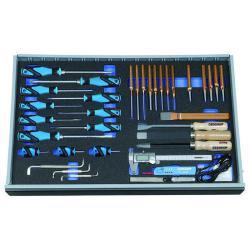 Werkzeugsortiment - in Check-Tool-Modul - 37-teilig