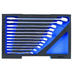 Ring-Maulschlüssel-Satz - in 1/2 L-BOXX Modul - SW 8 mm bis 24 mm - 312x200x60 mm