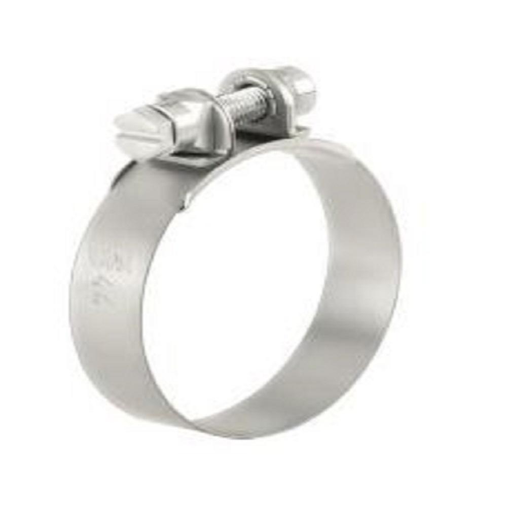 Käftklämma NORMA S - Galvaniserat stål - Nominell diameter 22 till 25 mm - Bandbredd 12 mm