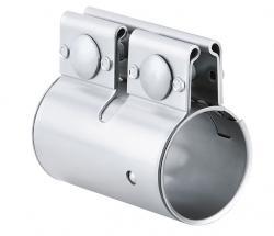 Abgasrohrschelle EURO Coupler - Bandbreite 88 mm - rostfreier Stahl 1.4016