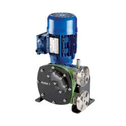 Pompa peristaltica Verderflex Dura7 - 5 bar - max. 0,55 kW - max. 39,5 l / h - tubi NR e NBR