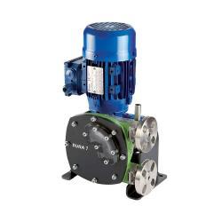 Peristaltisk pumpe Verderflex Dura7 - 5 bar - max. 0,55 kW - maks. 39,5 l / h - rør NR og NBR