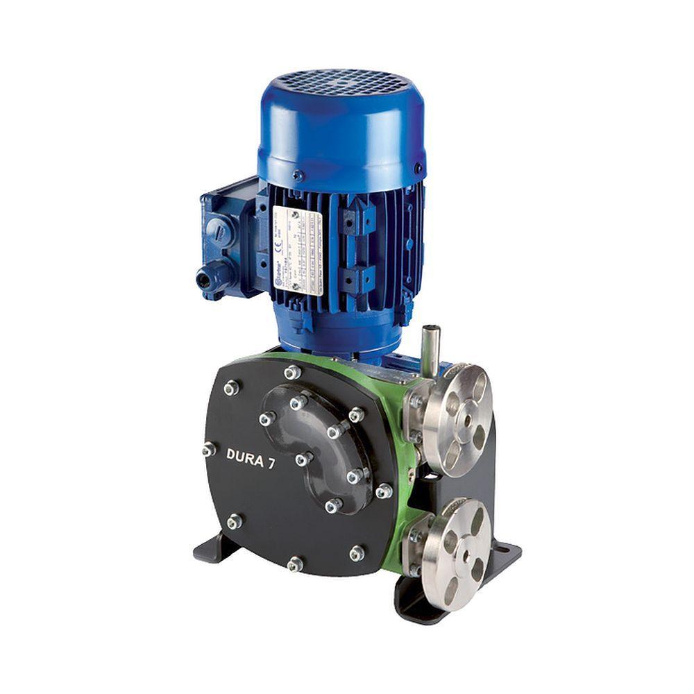 Peristaltisk pump Verderflex Dura15 - 6 bar - max. 0,75 kW - max. 319,2 l / h - olika slangar