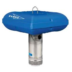 Schwimmponton PFR 25 für Schlammpumpe Flygt 2610