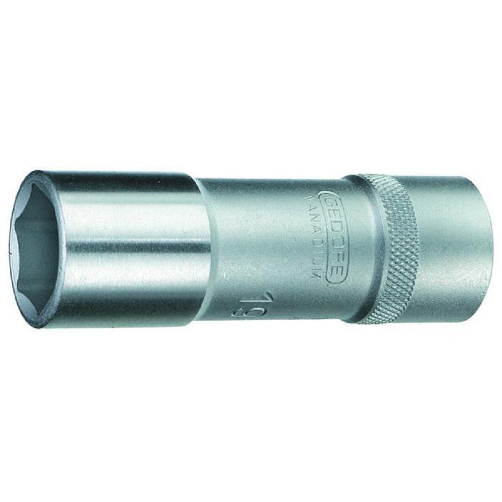 Steckschlüsseleinsatz - Antrieb 1/2″ - lang - 6-kant UD-Profil - SW 10 bis 34 mm