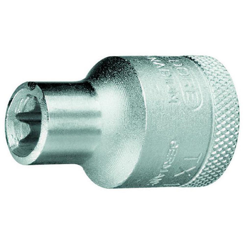 Steckschlüsseleinsatz - Antrieb 1/2″ - Außen-TORX®-Schrauben - SW Torx 9,42 bis 22,16 mm