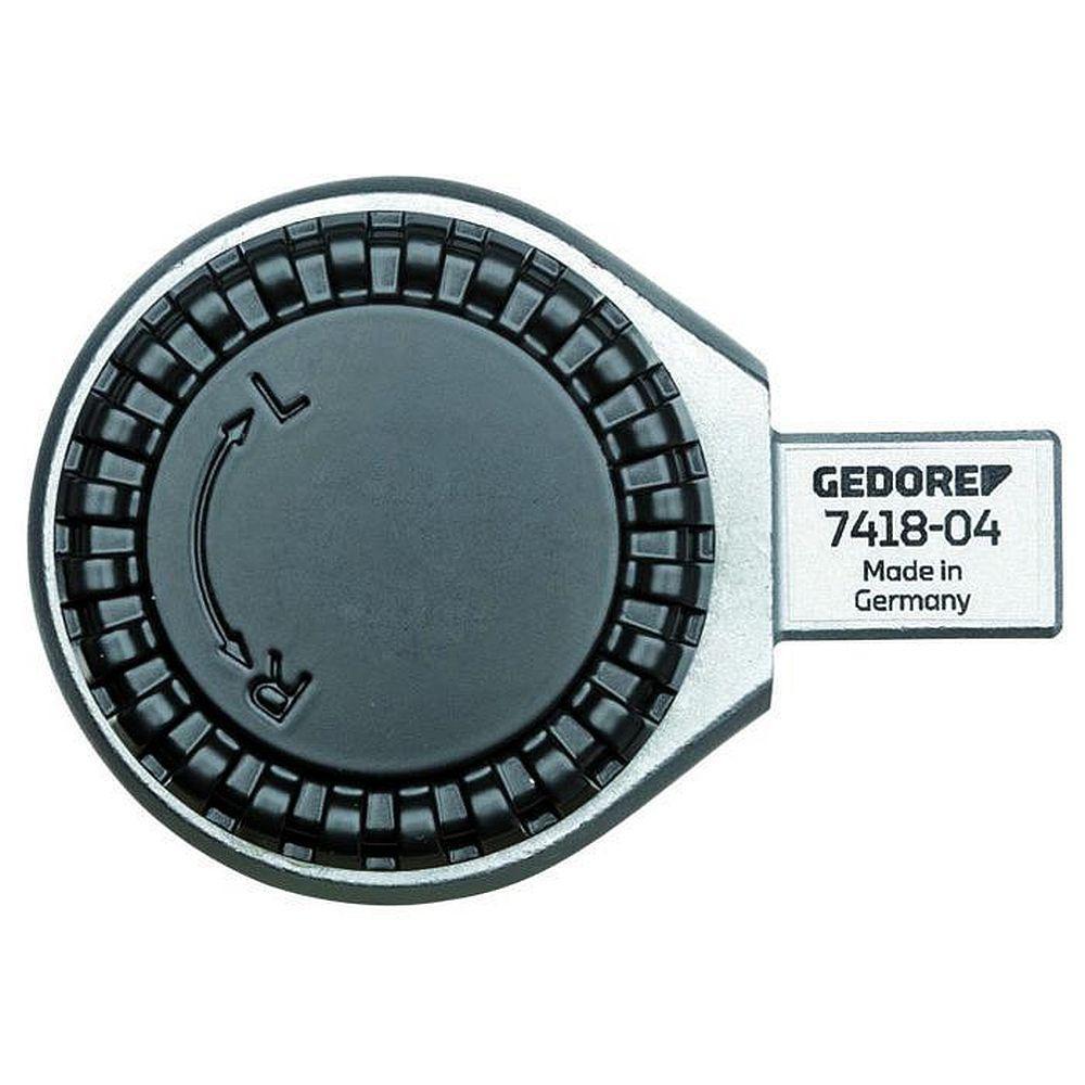 Einsteckumschaltknarre - 14 x 18 mm zapisu prostokąt - tylny kąt obrotu 7.2 °