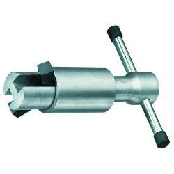 """Ventilhalter venti-quick - Aluminium - für Exzenter- und Standardventile 1 1/4"""" - Länge 120 mm"""