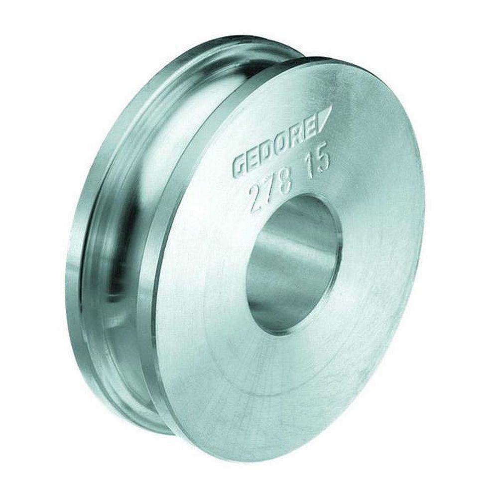 Aluminium-Biegeform für Rohrbiegegeräte - Rohr-Ø 3 bis 10 mm
