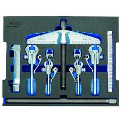 Abzieher-Sortiment - Innen/Außen - max. Belastung 5 t - L-BOXX 136 Modul