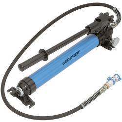 Hydraulische Handpumpe - Luftdruck 700 bar - mit Hochdruckschlauch