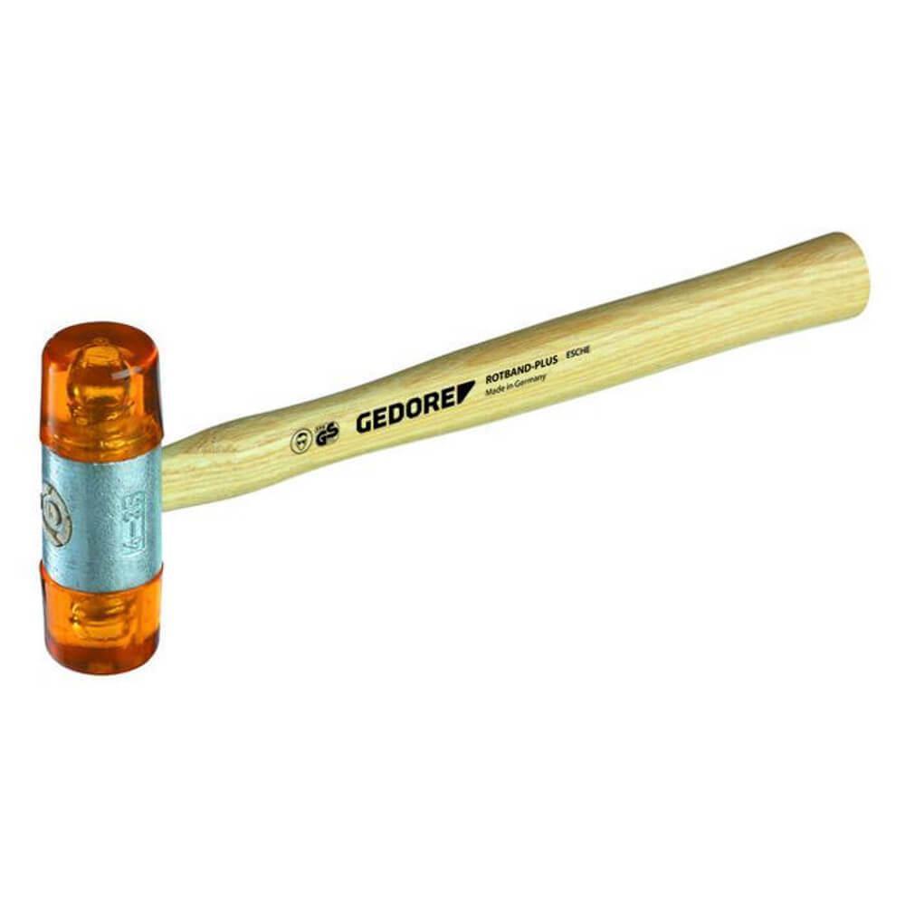 Ersatzkopf Plastik - aus Cellulose-Acetat - für Plastikhammer