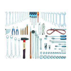Konstruktionsverktygssats - 81 stycken - tum för Caterpillar®