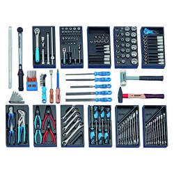 Tool assortment - 157 parts - for use on cars