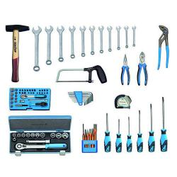 Tool assortment - 87 pieces - basic version