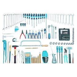 Mechanic tool assortment - 138 pieces - metric tools