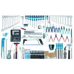 Mechanic tool assortment - 179 pieces - metric tools