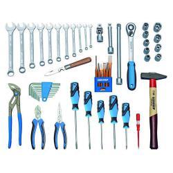 Werkzeugsortiment Touring - 49-teilig - metrische Werkzeug für alle Fälle