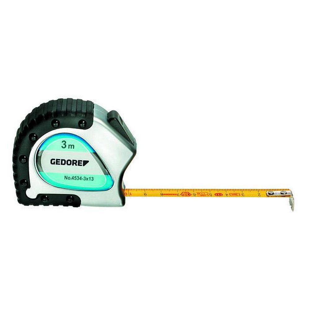 Teräsmetallimittari - kiinnityspidikkeellä ja paluupulssilla - pituus 3-5 m
